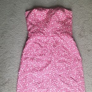 Ann Taylor Loft strapless dress. Size 10